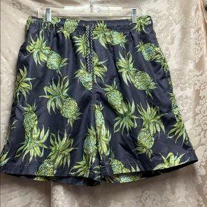 Op Pineapple Swim Trunks